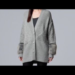 Simply Vera Sweater Coat